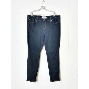 Torrid WM Plus 22R Denim Jeans Skinny Leg